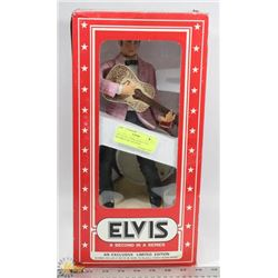 "1977 ELVIS 55 PINK JACKET 12""H BOURBON DECANTER W/"