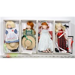 LOT OF 4 MACIAK DOLLS INCL 2008 ALICE AND THE