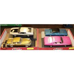 LOT OF 4 CAR MODELS