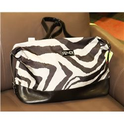FENDI REPLICA ZEBRA PRINT PURSE