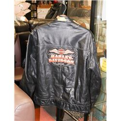 RHYNO SIZE XL HARLEY DAVIDSON LEATHER JACKET
