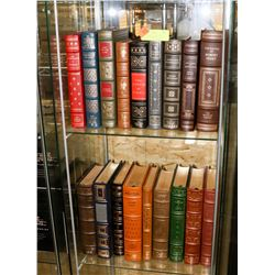 COLLECTION OF 18 FRANKLIN LIBRARY LEATHER BOUND