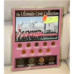 THE ULTIMATE CENT COLLECTION WITH COA