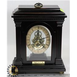 BOMBAY SKELETON MANTEL CLOCK.