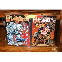 2 LIMITED EDITION WITH COAS LADY DEATH 1/2 AND