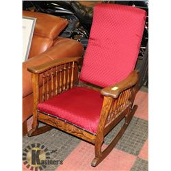 1901 AUTOMATIC ROCKER CHAIR BY COOK & COS