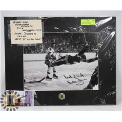 BOBBY ORR GUARANTEED AUTHENTIC AUTOGRAPH