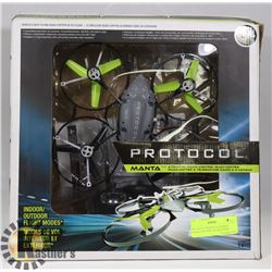 PROTOCOL MANTA 4 CHANNEL RADIO CONTROL QUADCOPTER
