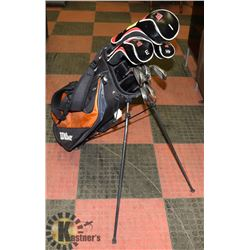 "MENS RIGHT HAND ""BOMB"" GOLF CLUBS W/ GOLF"