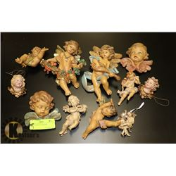 COLLECTION OF CHERUBS