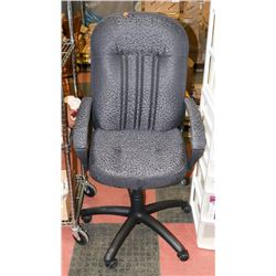 HYDRAULIC LIFT FABRIC OFFICE CHAIR