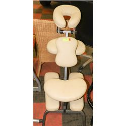 PORTABLE ERGONOMIC SEATED MASSAGE CHAIR