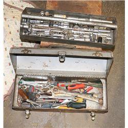 CRAFTSMAN TOOLS BOX W/CONTENTS