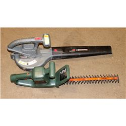 "BLACK AND DECKER 16"" ELECTRIC TRIMMER & DURAMAX"