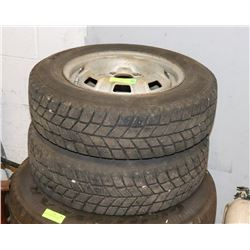 LOT OF 2 TIRES 175/70X13.