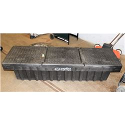 "FULL SIZE BLACK PLASTIC 70"" TRUCK BOX, MOUNTING"