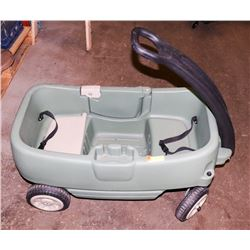 KIDS WAGON GREEN.