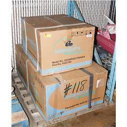 LOT OF 3 ISLANDAIRE TTW PT A/C UNIT 9300 BTU
