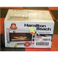 NEW HAMILTON BEACH TOASTER OVEN