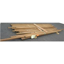 "Iroko Bundle, 130 Total Board Ft, 2"" x 11' Ave Per Piece"