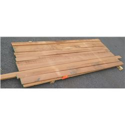 "African Mahogany Bundle, 35 Total Board Ft, 1"" x 8' Ave Per Piece"