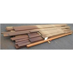"Afrormosia Bundle, 270 Total Board Ft, 1"" x 10'-16' Ave Per Piece"