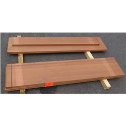 "African Mahogany Bundle, 30 Total Board Ft, 1.5"" x 5' Ave Per Piece"