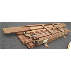 "Wood Bundle, 590 Total Board Ft, 1"" & 2"" x 11'-12' Ave Per Piece"