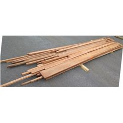 "Sapele Bundle, 200 Total Board Ft, 1"" x 15' Ave Per Piece"