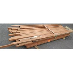 "Sapele Bundle, 265 Total Board Ft, 2"" x 11' Ave Per Piece"