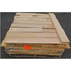 "White Oak Bundle, Approx. 400 Linear Ft, 3/4"" Tongue & Groove 5 3/8"" Face"