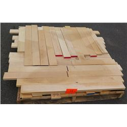 "Maple Bundle, Approx. 200 Linear Ft, 3/4"" Tongue & Groove, 3 1/4"" Face"