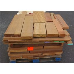 "Cedar, Fir Bundle, 90 Total Board Ft, 1"" & 2"" x 4' Ave Per Piece"