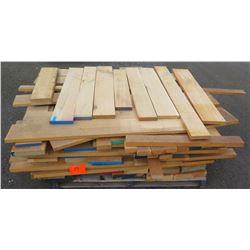 "White Oak Bundle, 280 Total Board Ft, 1"" & 2"" x 4' Ave Per Piece"