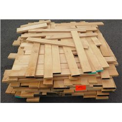 "Maple Bundle, Approx. 550 Linear Ft, 3/4"" Tongue & Groove, 3 1/4"" Face"