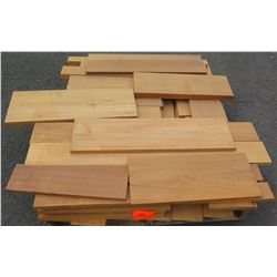 "Teak Bundle, Approx. 18 Total Board Ft, 1"" Tongue & Groove, 5 1/4"" Face, 65 Linear Ft."
