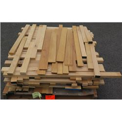 Oak, Teak Bundle, 130 Total Board Ft, 3' Ave Per Piece