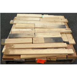 "Maple, Fir Bundle, 50 Total Board Ft, 1"" & 2"" x 4' Ave Per Piece"