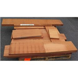 "Sapele Bundle, 80 Total Board Ft, 1"" & 2"" x 4' Ave Per Piece"