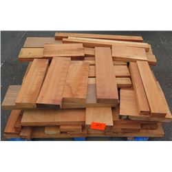 "Wood Bundle, Approx. 240 Total Board Ft, 1"" & 2"" x 4' Ave Per Piece"
