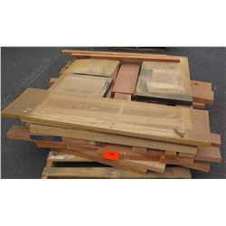 "Wood Bundle, 165 Total Board Ft, 2"" x 4' Ave Per Piece"