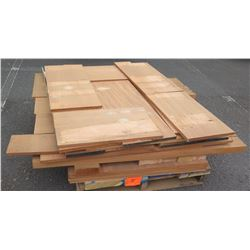 "Wood Bundle, 205 Total Board Ft, 1"" & 2"" x 14' Ave Per Piece"