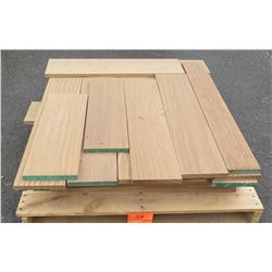 "Afrormosia Bundle, 85 Total Board Ft, 1"" x 8"" Ave Per Piece"