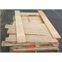 "Laminated Lumber Bundle, Approx. 80 LF, 1.5"" Thick, 3' Ave Per Piece"