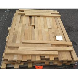 "Teak Bundle, 60 Total Board Ft, 1"" x 4' Ave Per Piece"