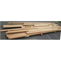 "Teak Bundle, 110 Total Board Ft, 1"" x 11' Ave Per Piece"