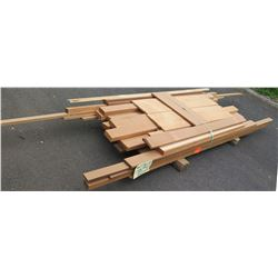 Wood Bundle, 145 Total Board Ft, 6' Ave Per Piece