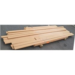 "Sapele Bundle, 80 Total Board Ft, 1"" x 10' Ave Per Piece"
