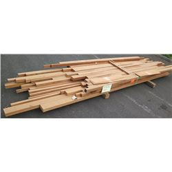 "African Mahogany Bundle, 90 Total Board Ft, 2"" x 10' Ave Per Piece"