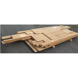 Lumber/Moldings/Crown/Handrail 9-13' Ave Per Piece
